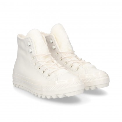 DOUBLE RUBBER BOOTS WHITE