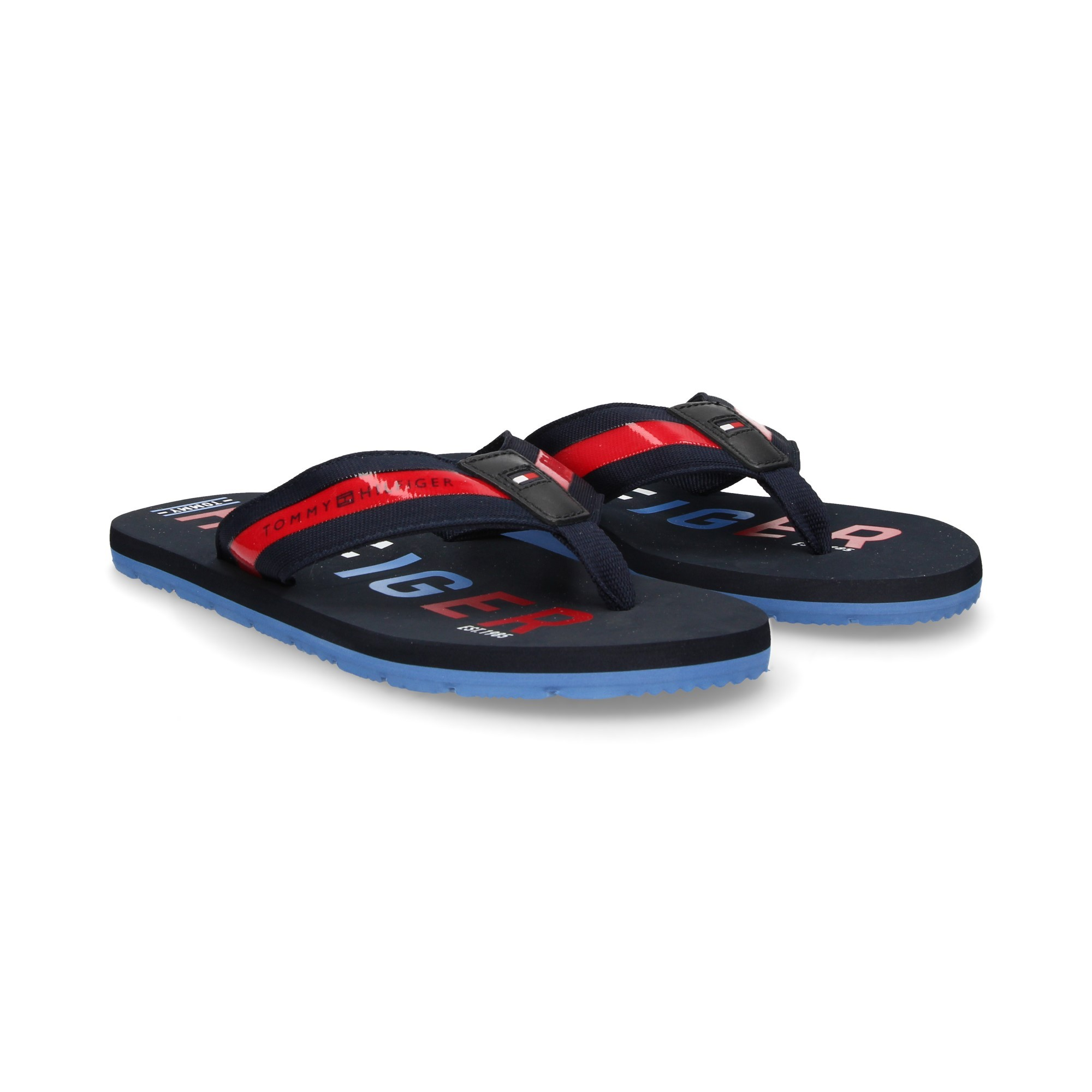 45cc21836f895 TOMMY HILFIGER Men s Flip Flops FM01928 403 MIDNIGHT