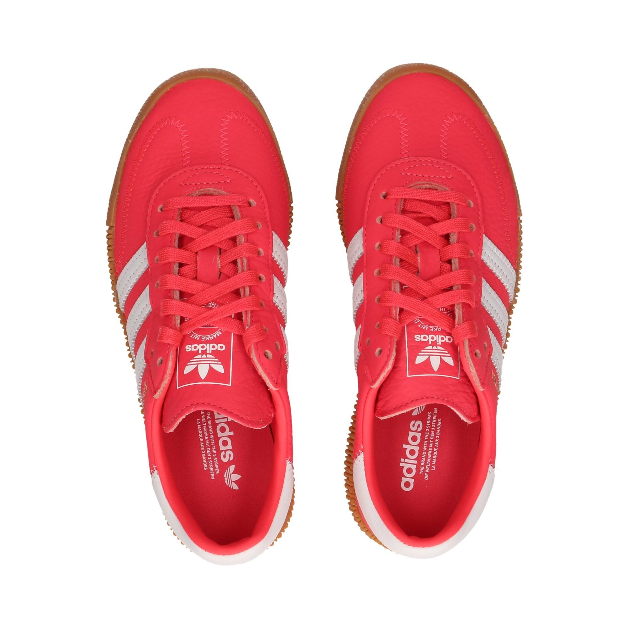 zapatilla-plataform-3-bandas-piel-rojo