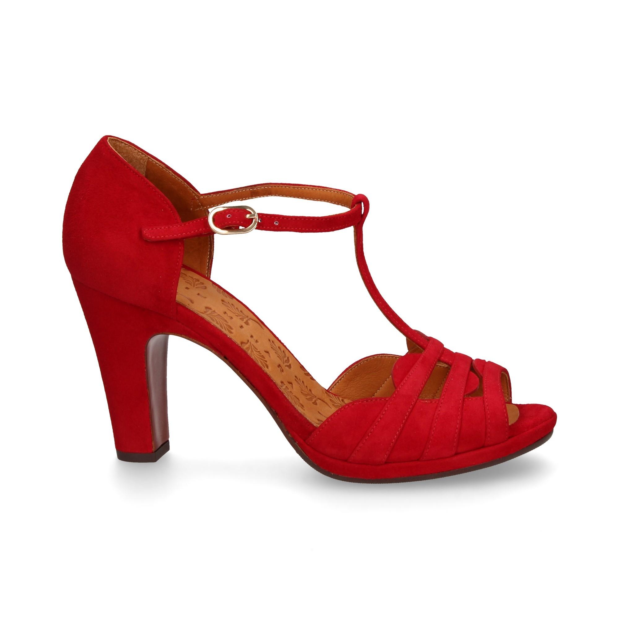 8a2fbbec4 CHIE MIHARA Women's heeled sandals ALOE ROJO