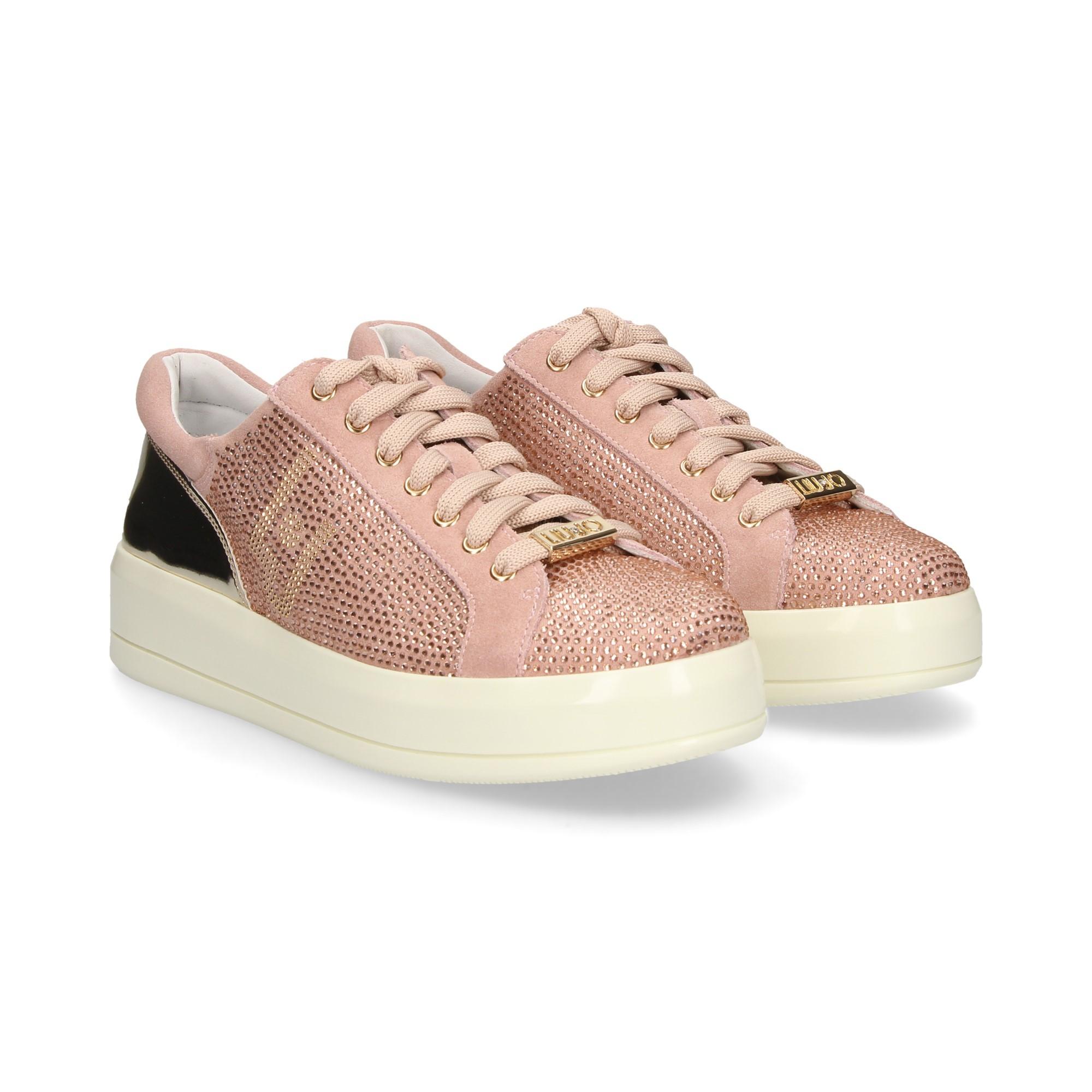 LIU·JO Women s Sneakers B19015 TX011 31406 PEACH 1e09e0598ab