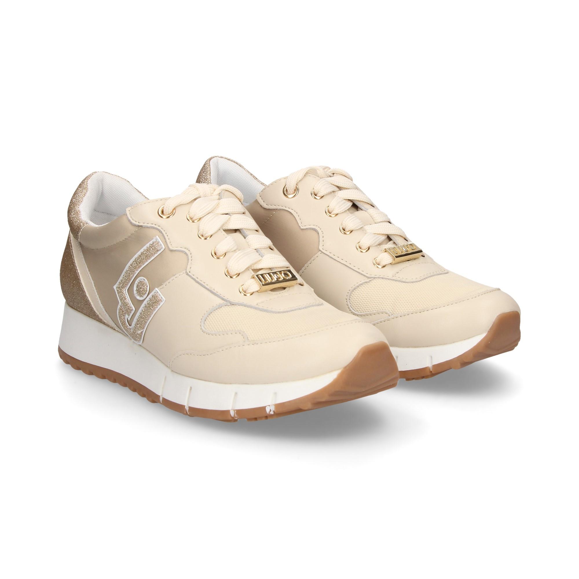 LIU·JO Chaussures de sport pour femmes B19019 PX028 S1401 CREAM