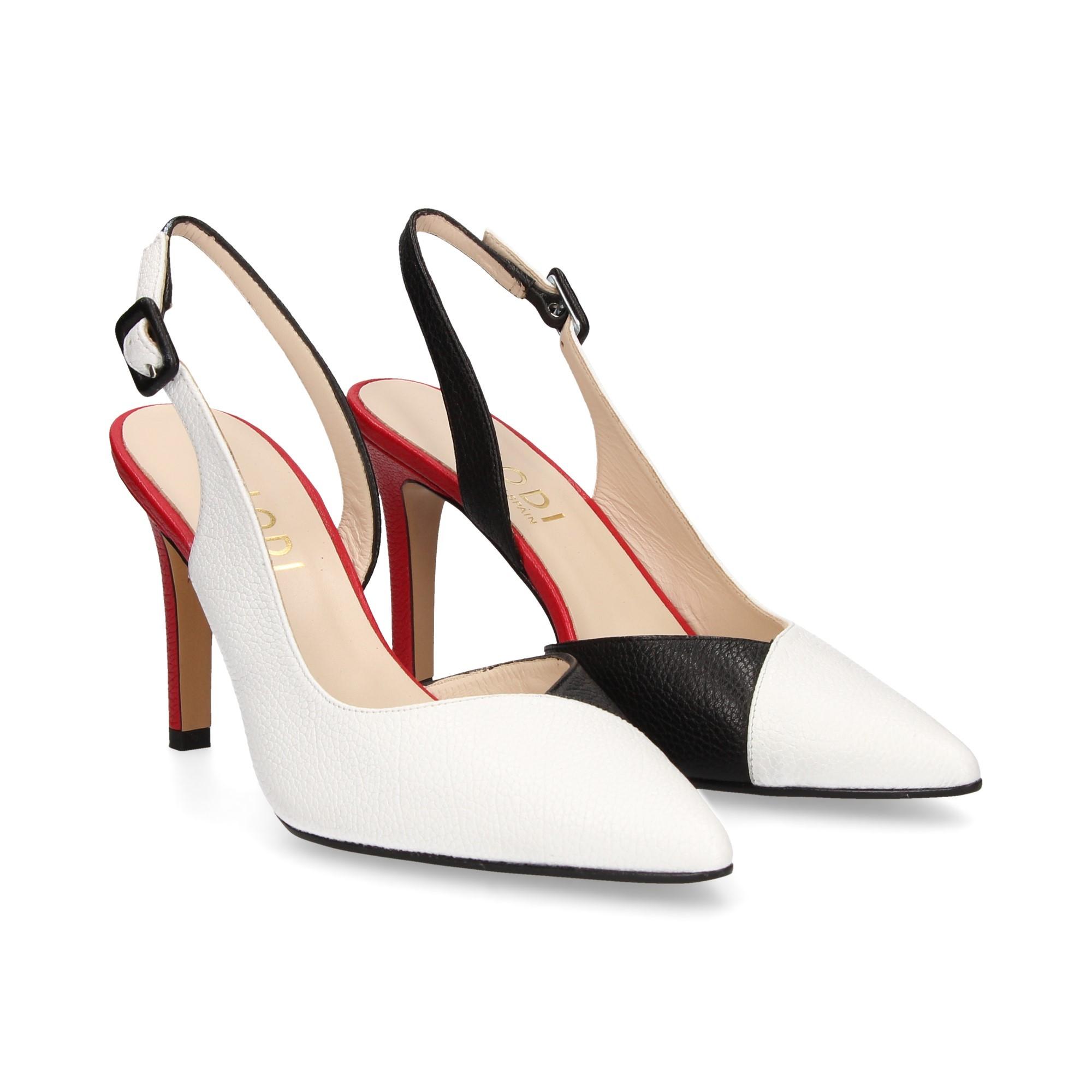 Zapatos De Lodi Blanconegro Alto Tacón Radoru W2eYDHE9Ib
