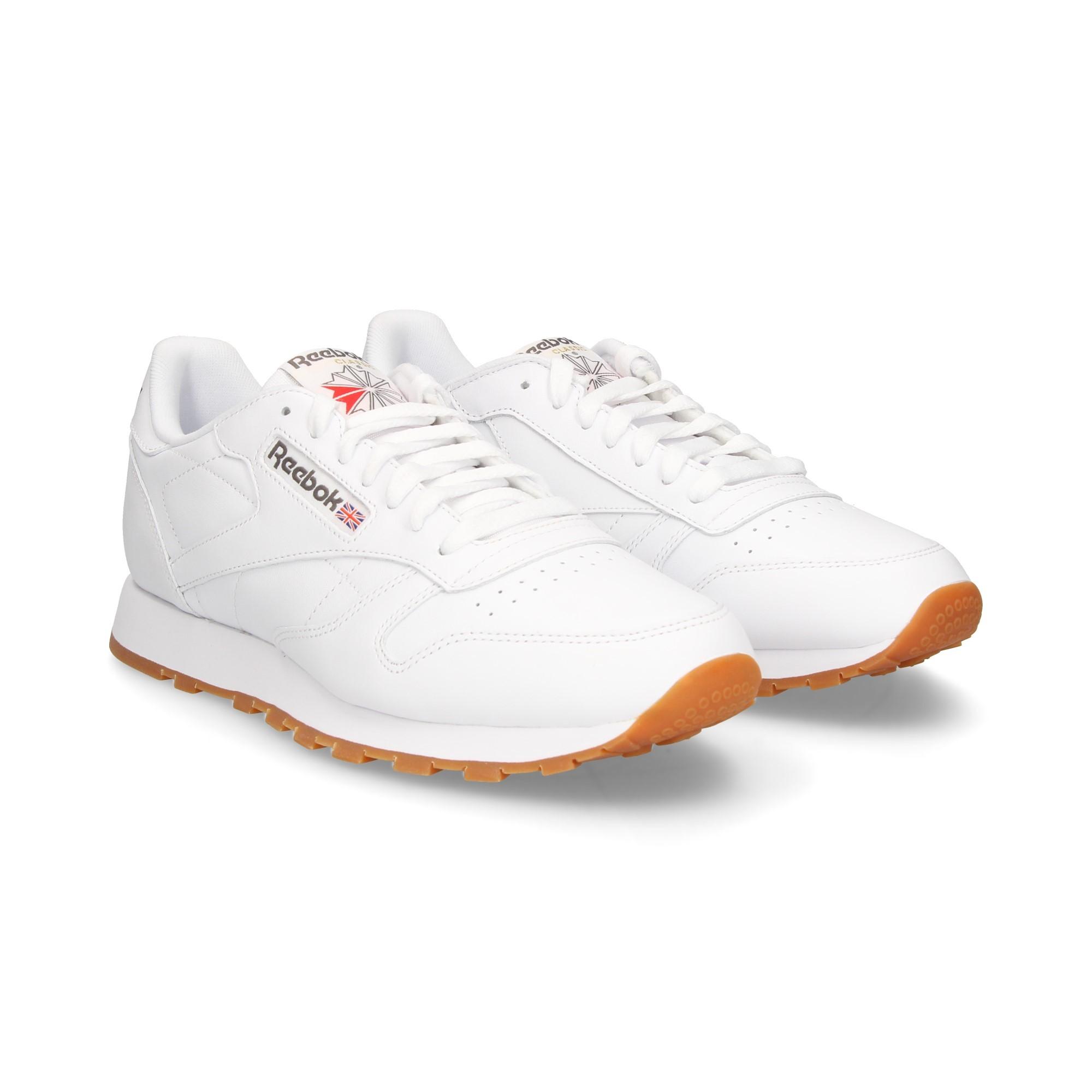 REEBOK Men's sneakers 49799 WHTGUM