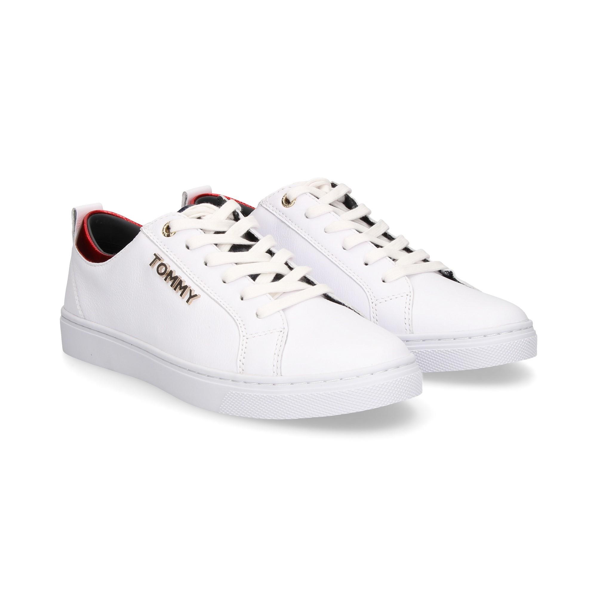 5625cc0e52fd TOMMY HILFIGER Women s Sneakers FW03776 100 WHITE