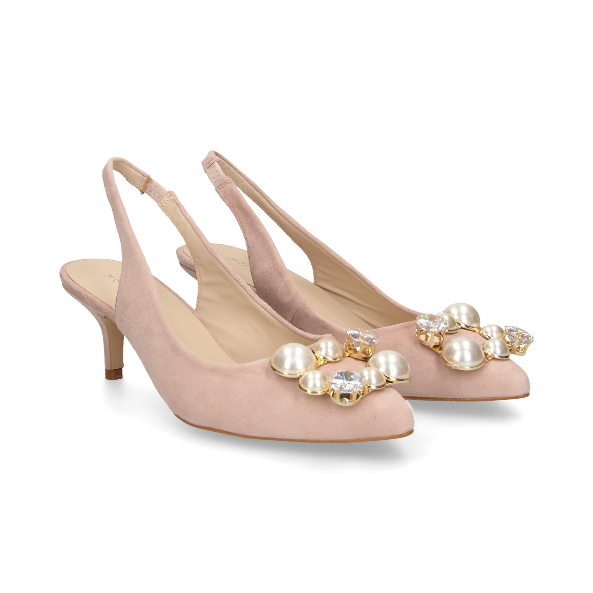meilleure sélection 8376a a858c MIUXA Chaussures à talons bas MIKA NUDE
