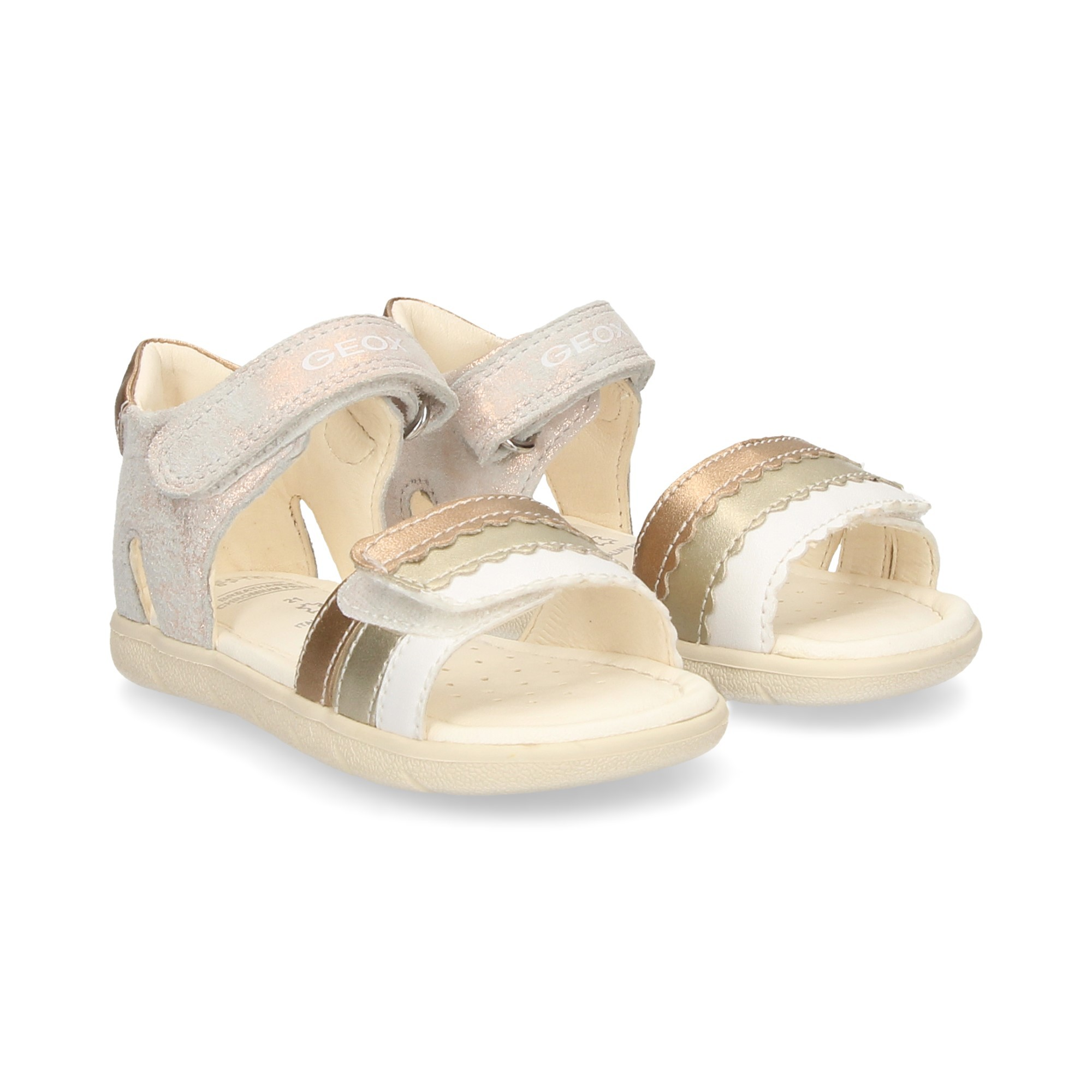 GEOX Girls sandals and flip flops B921YB C7018 ORO