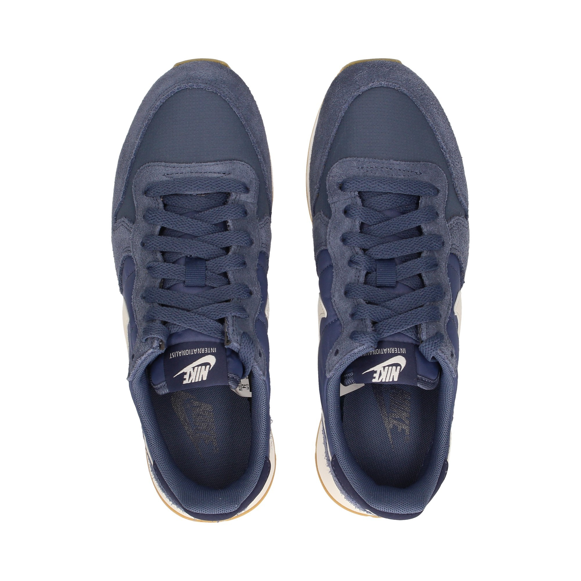 NIKE Chaussures de sport pour femmes 828407 412 AZULBLANCO