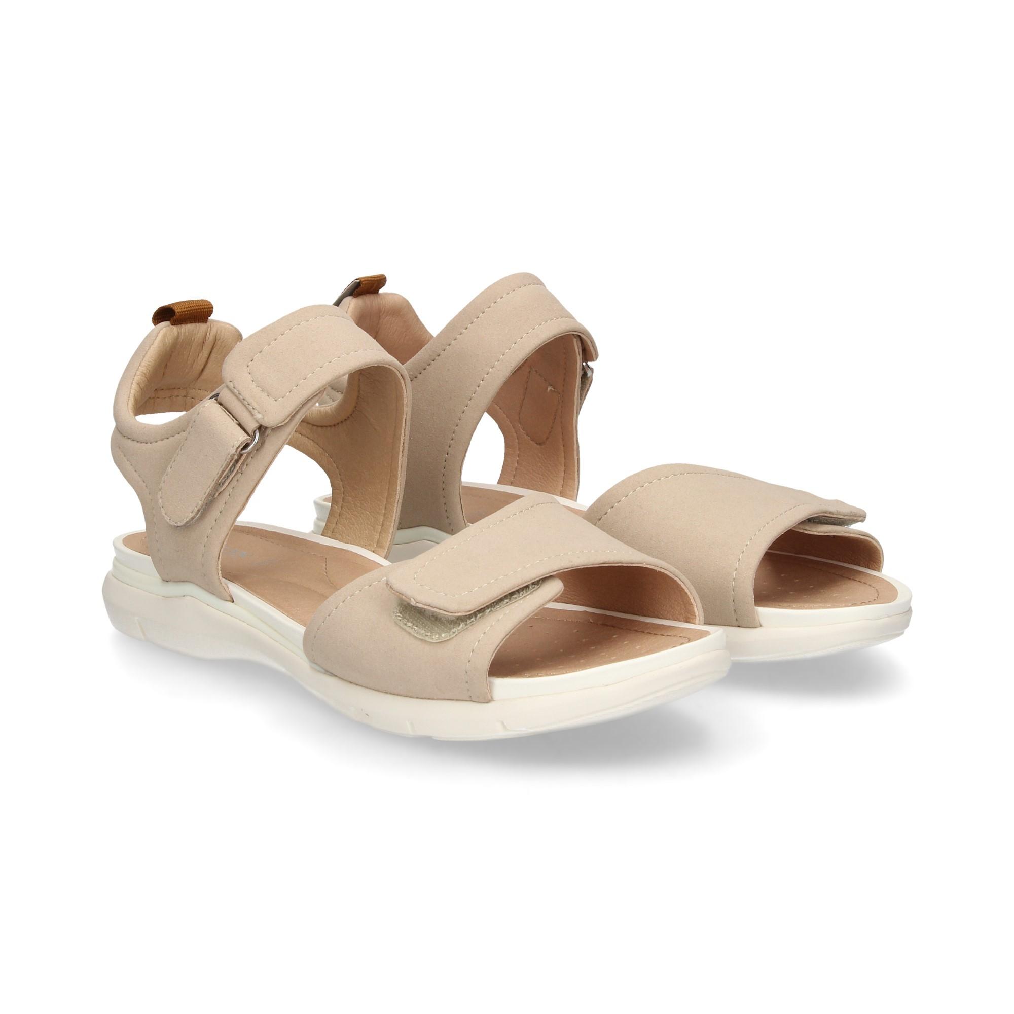 sells best sell brand new GEOX Women's Flat sandals D92F1A C5000 BEIGE