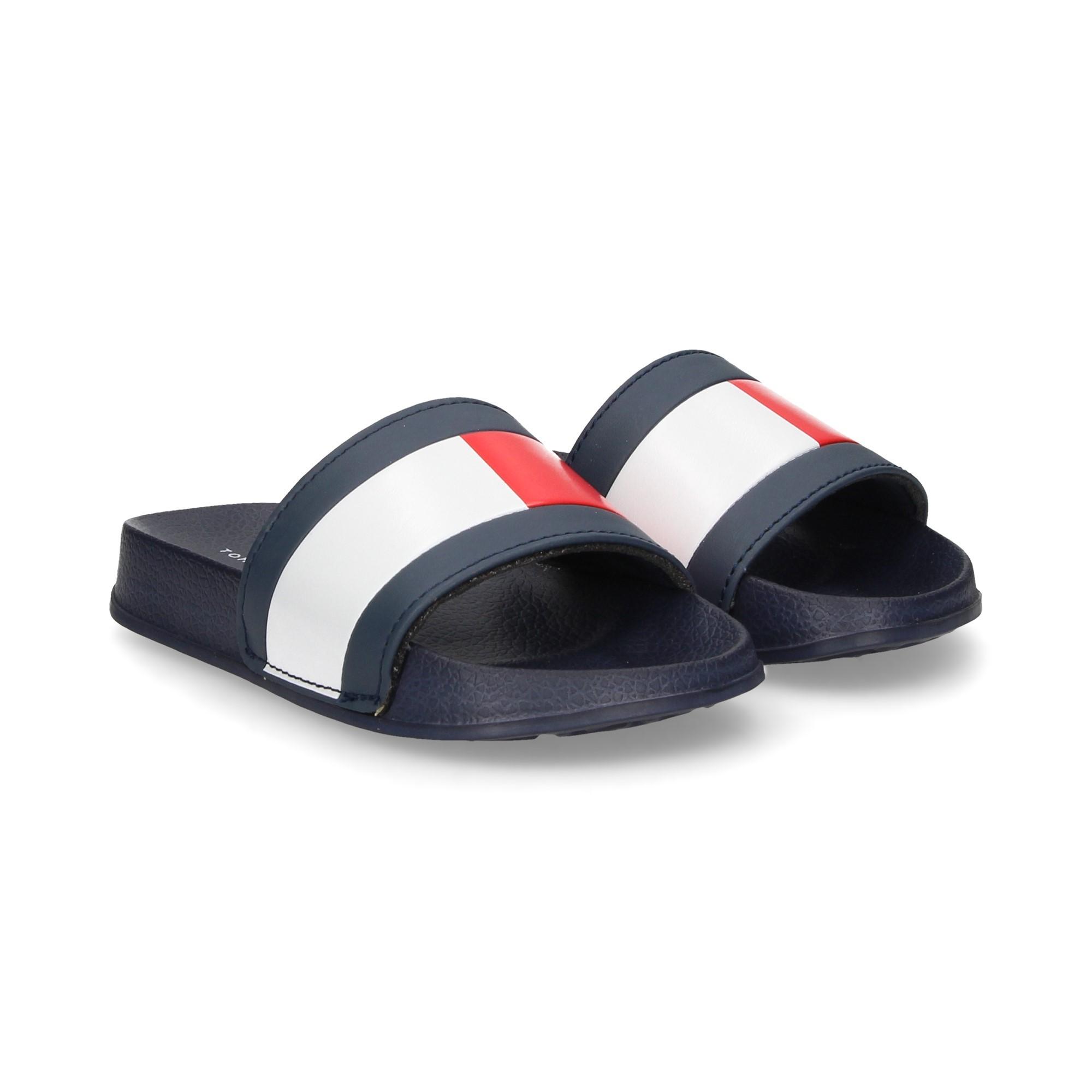 acf74bc30 TOMMY HILFIGER Girls sandals and flip flops T3B0 30227 004 AZUL
