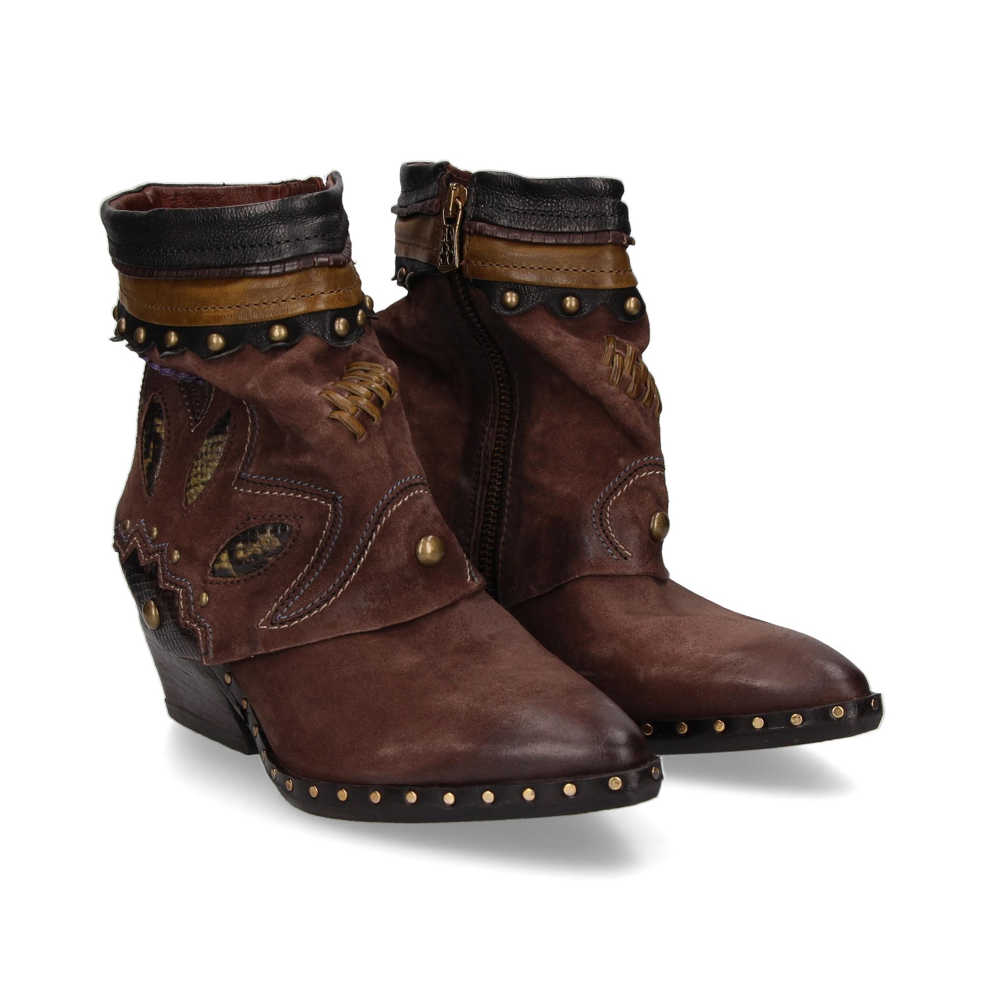 A.S.98 Ankle boots mit Absatz für damen 268202.102 0001 MOKA