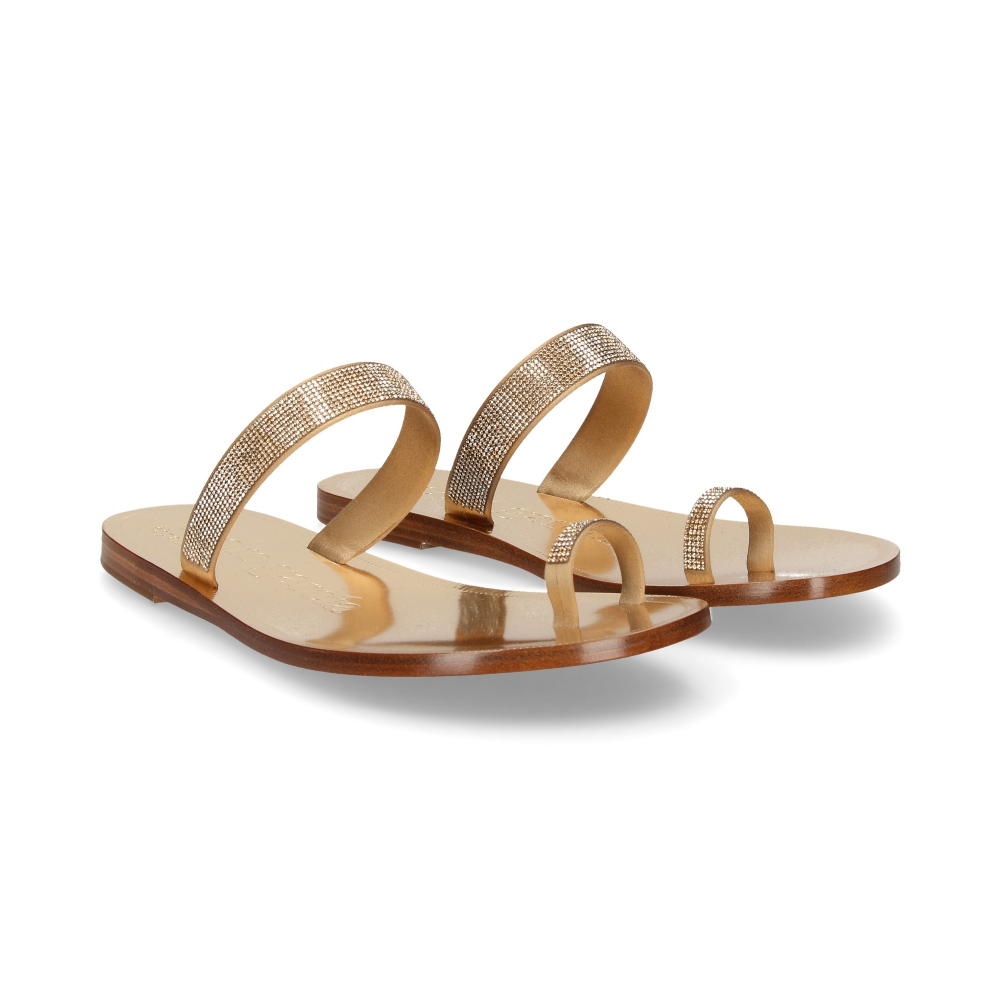 2b1b7a2265af PEDRO GARCIA Women s Flat sandals ZARINA ORO