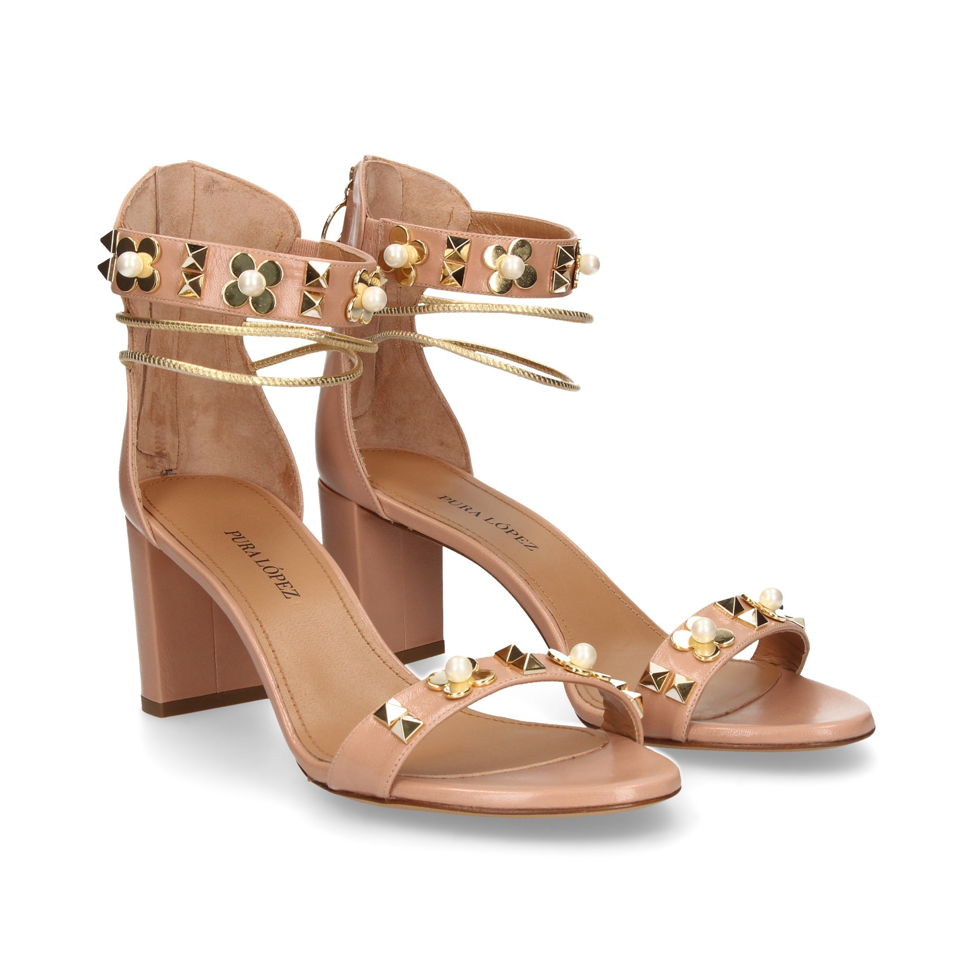 Pura Lopez Sandalette Für Damen Schwarz 2019 Shops