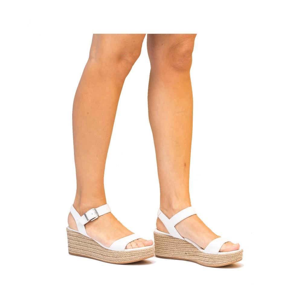f5f449d384d UNISA Women s wedge sandals KALKA STY WHITE