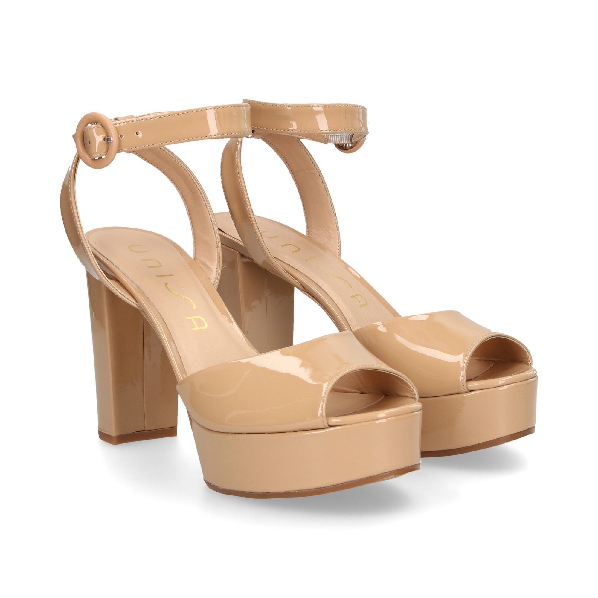 439086a662e UNISA Women s wedge sandals VENTA PA SUNTAN