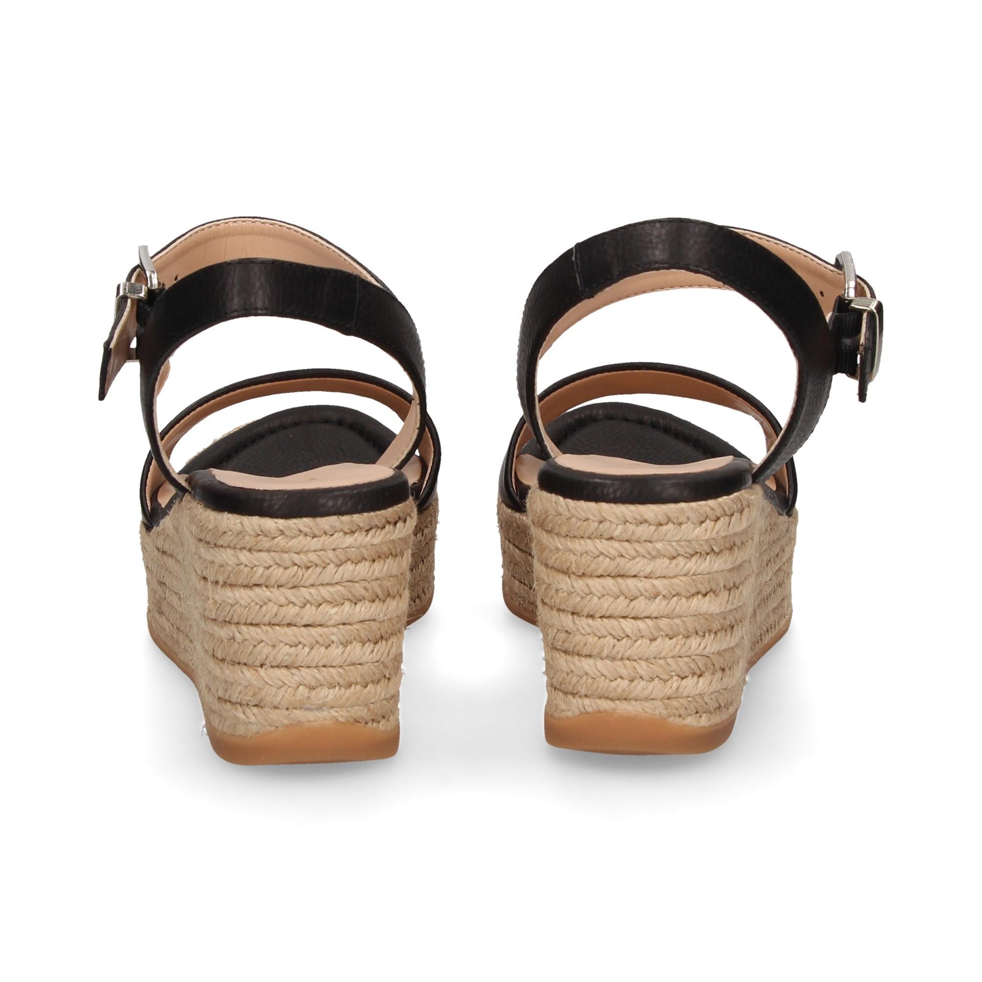 b4d4d973930 UNISA Women s wedge sandals KALKA STY NEGRO