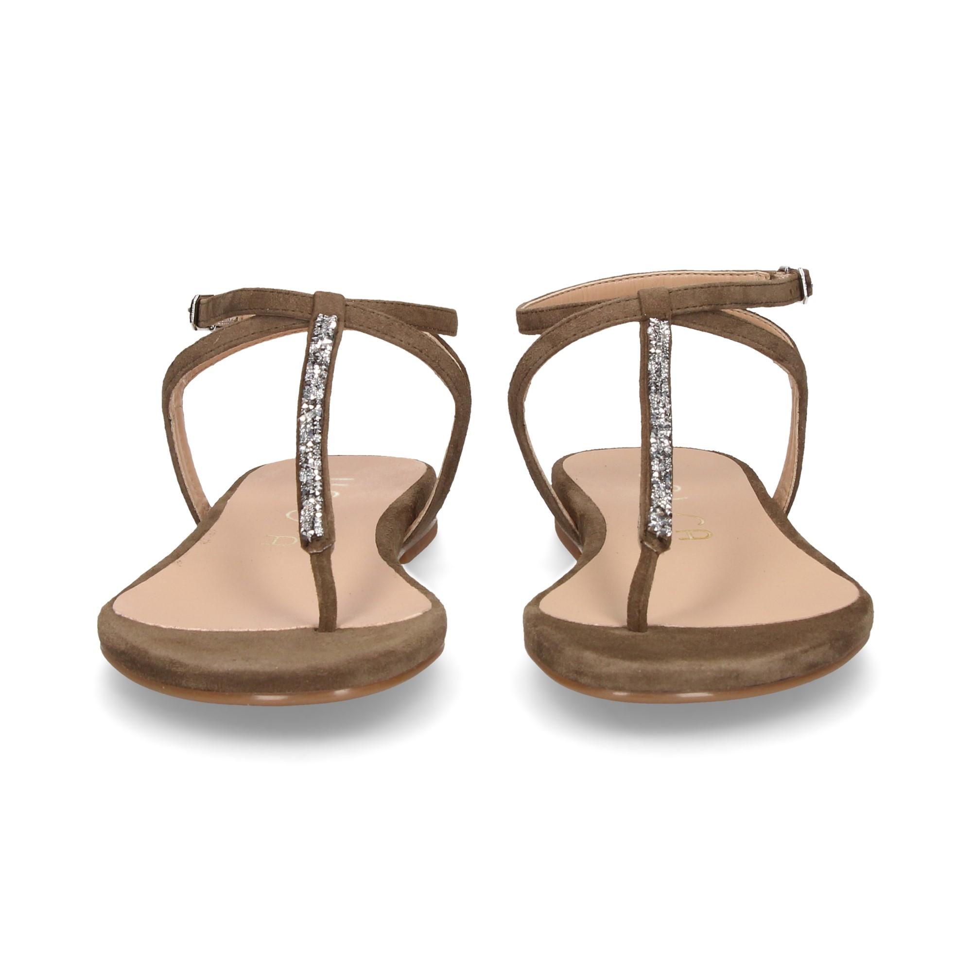 UNISA Flache Sandalen für Damen CHARLE_KS SALVIA