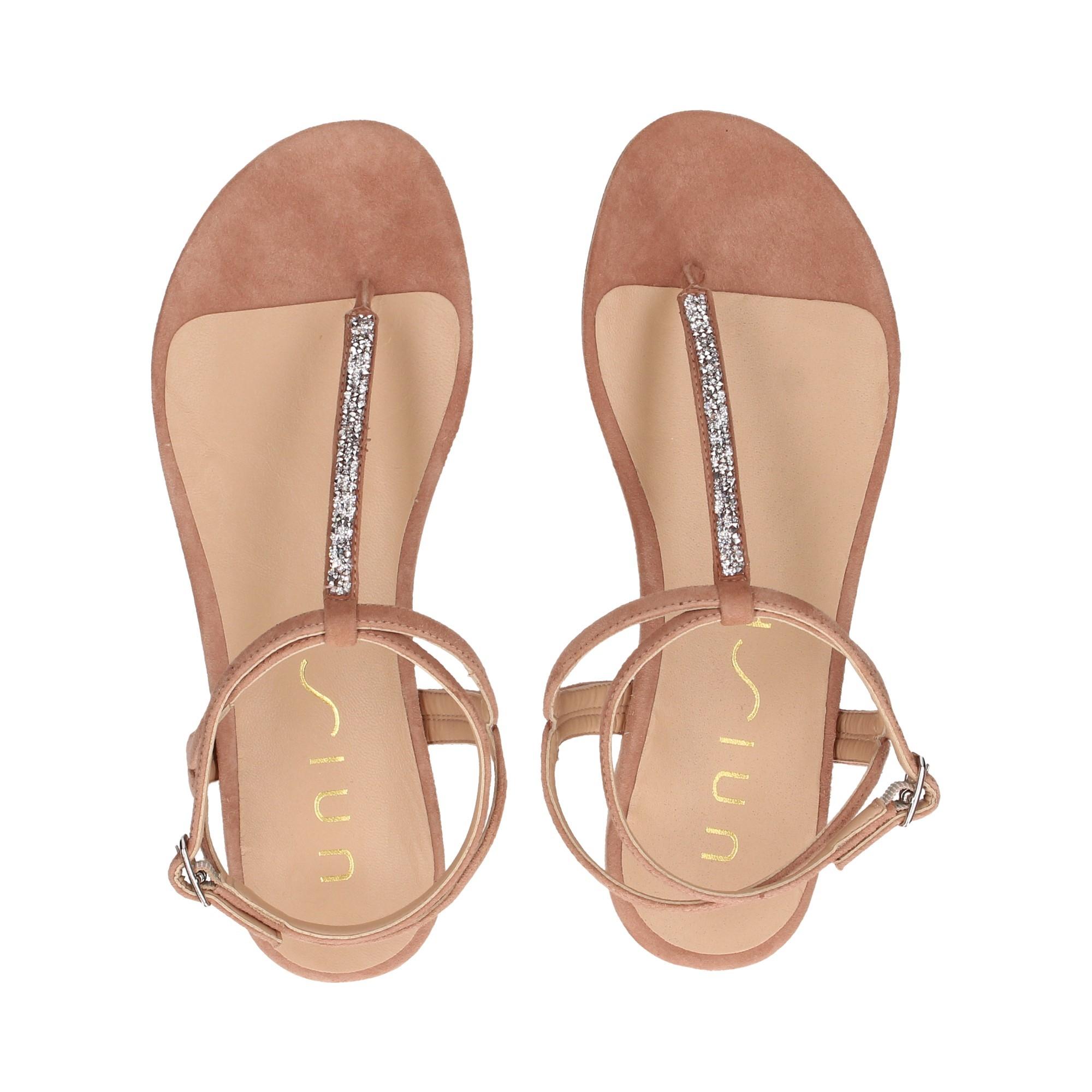 UNISA Flache Sandalen für Damen CHARLE_KS TUSCANY