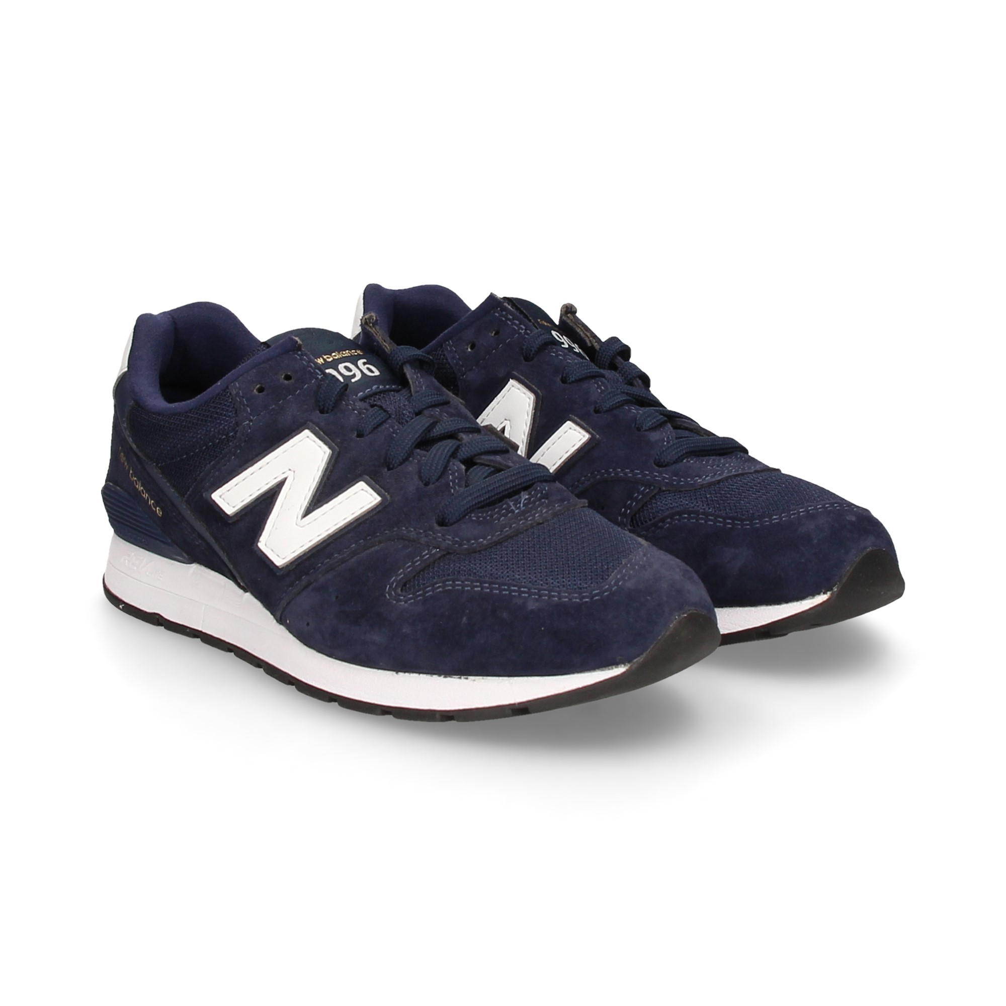 new balance azul y blanco