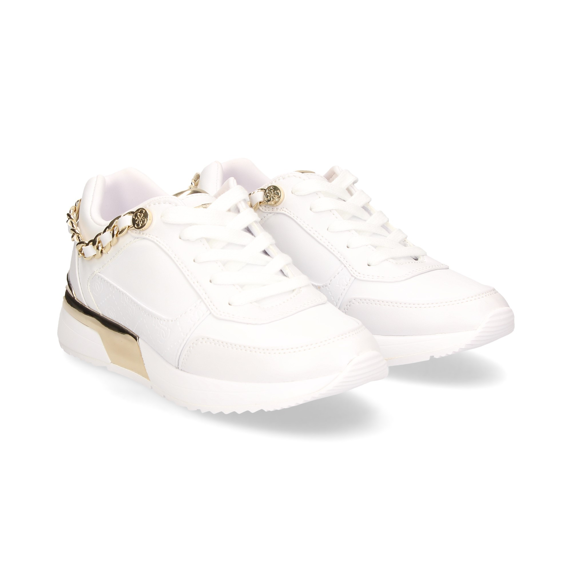 GUESS Women's Sneakers FL7MI2 ELE12 WHITE