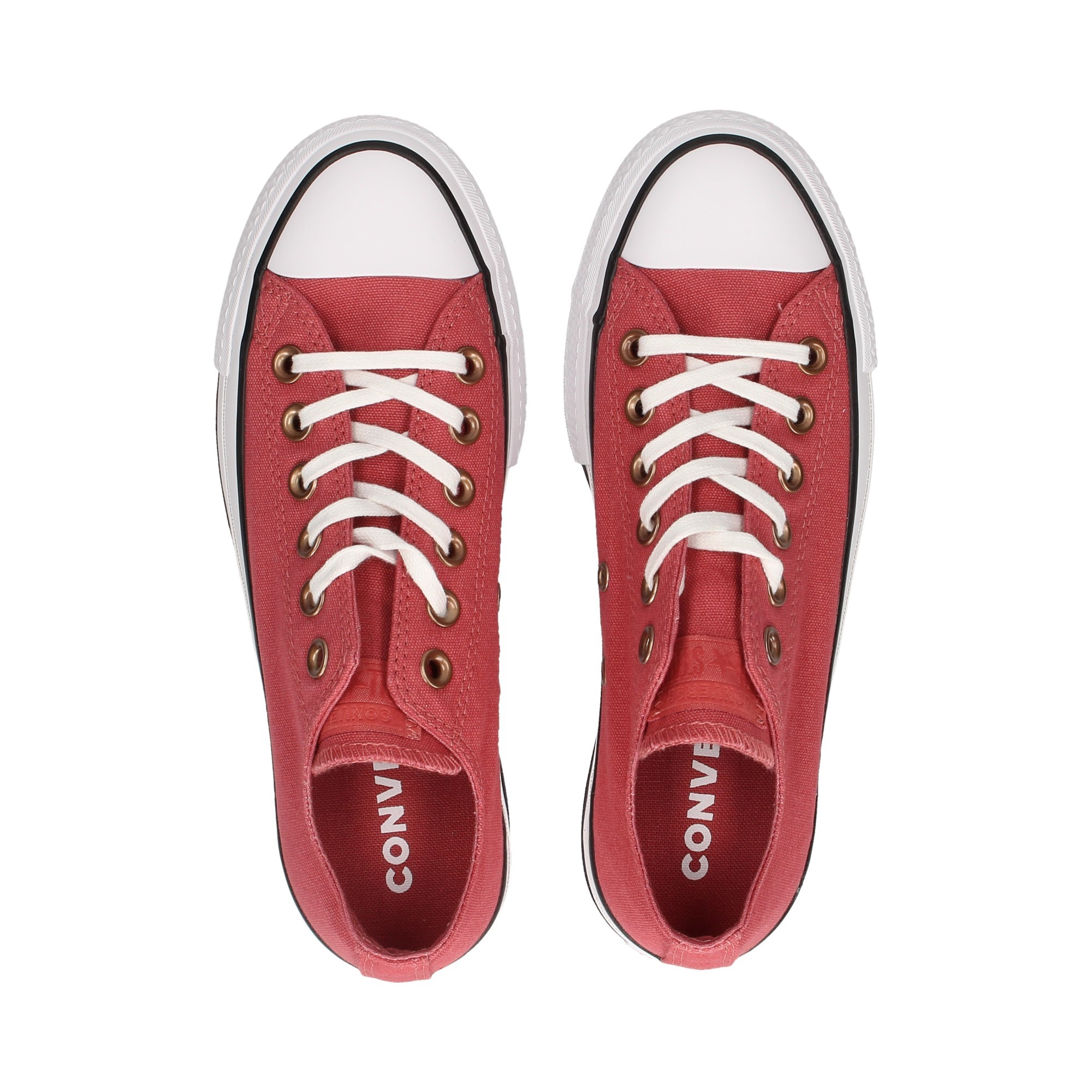 CONVERSE Women's Sneakers 564996C LIGHT REDWOODW