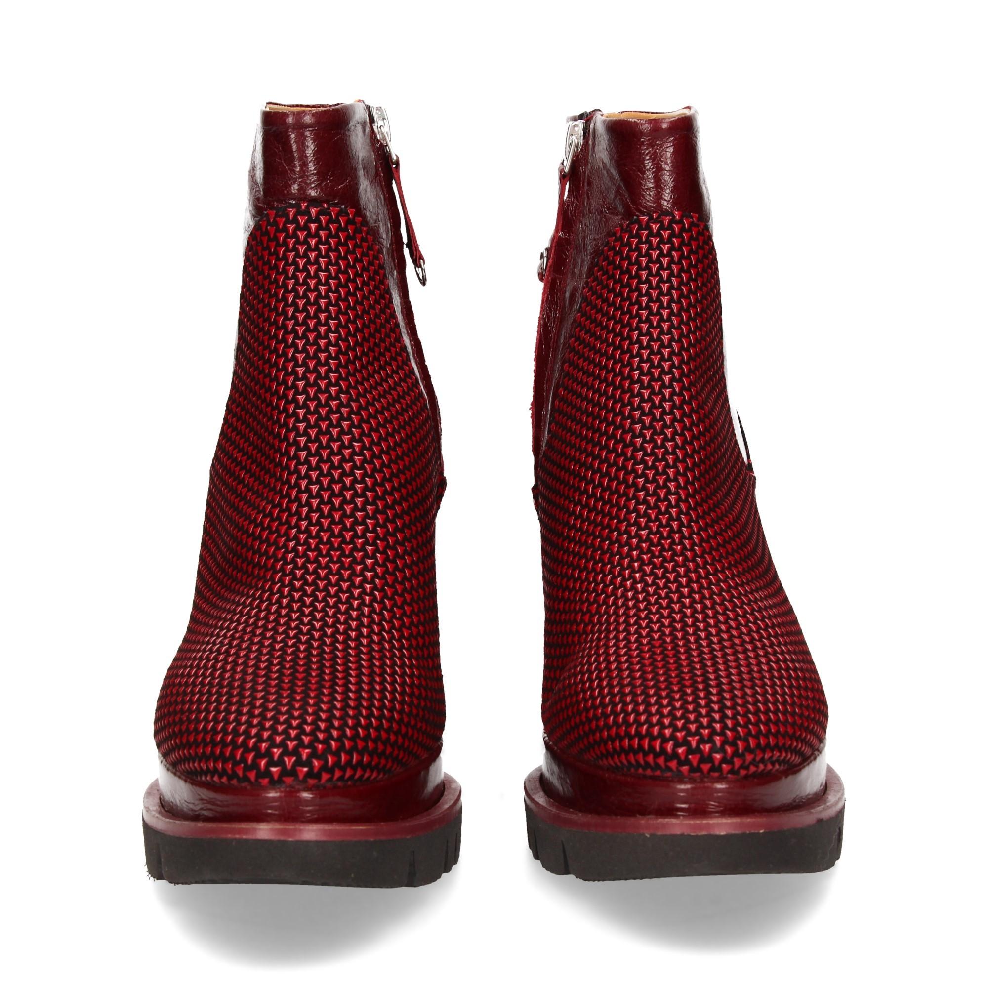 botin-cuna-elast-piel-textura-rojo