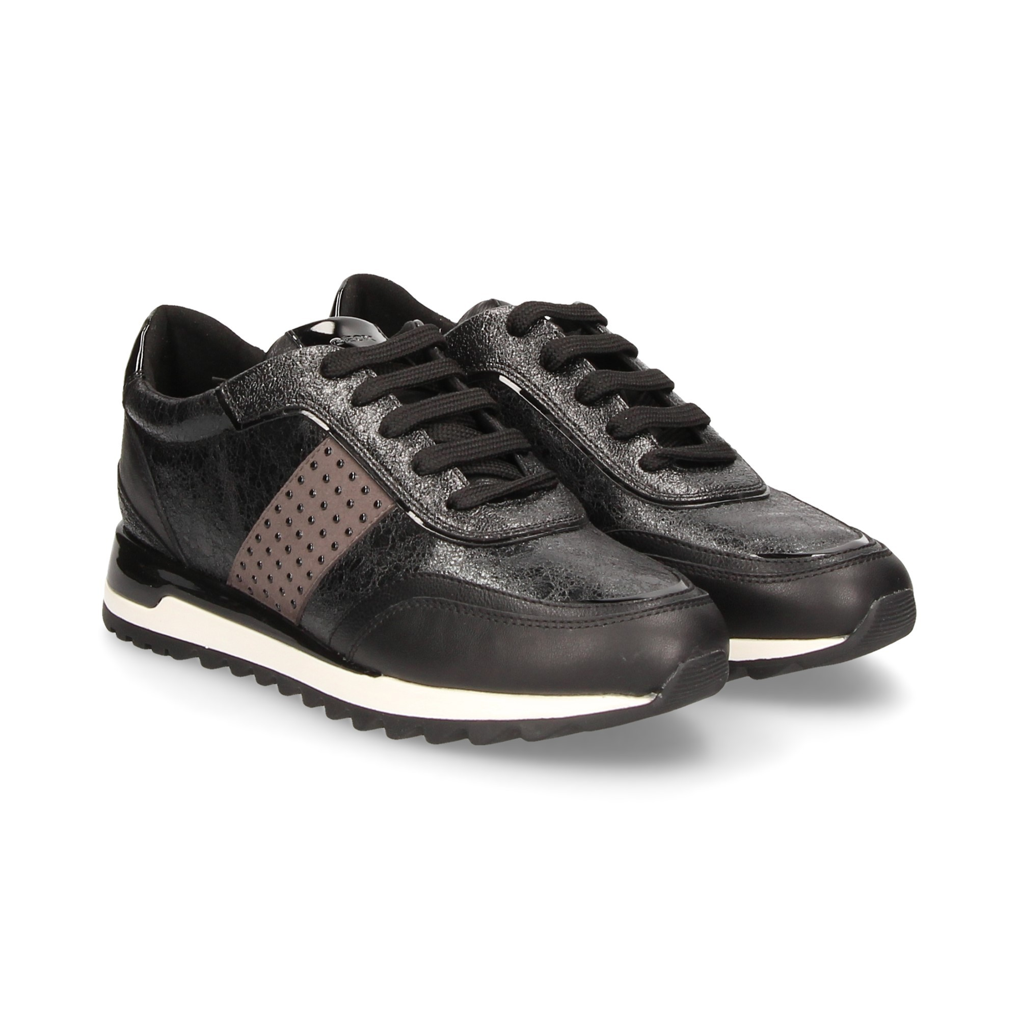 cheaper 63f3f 73478 GEOX Women's Sneakers D94AQA NEGRO