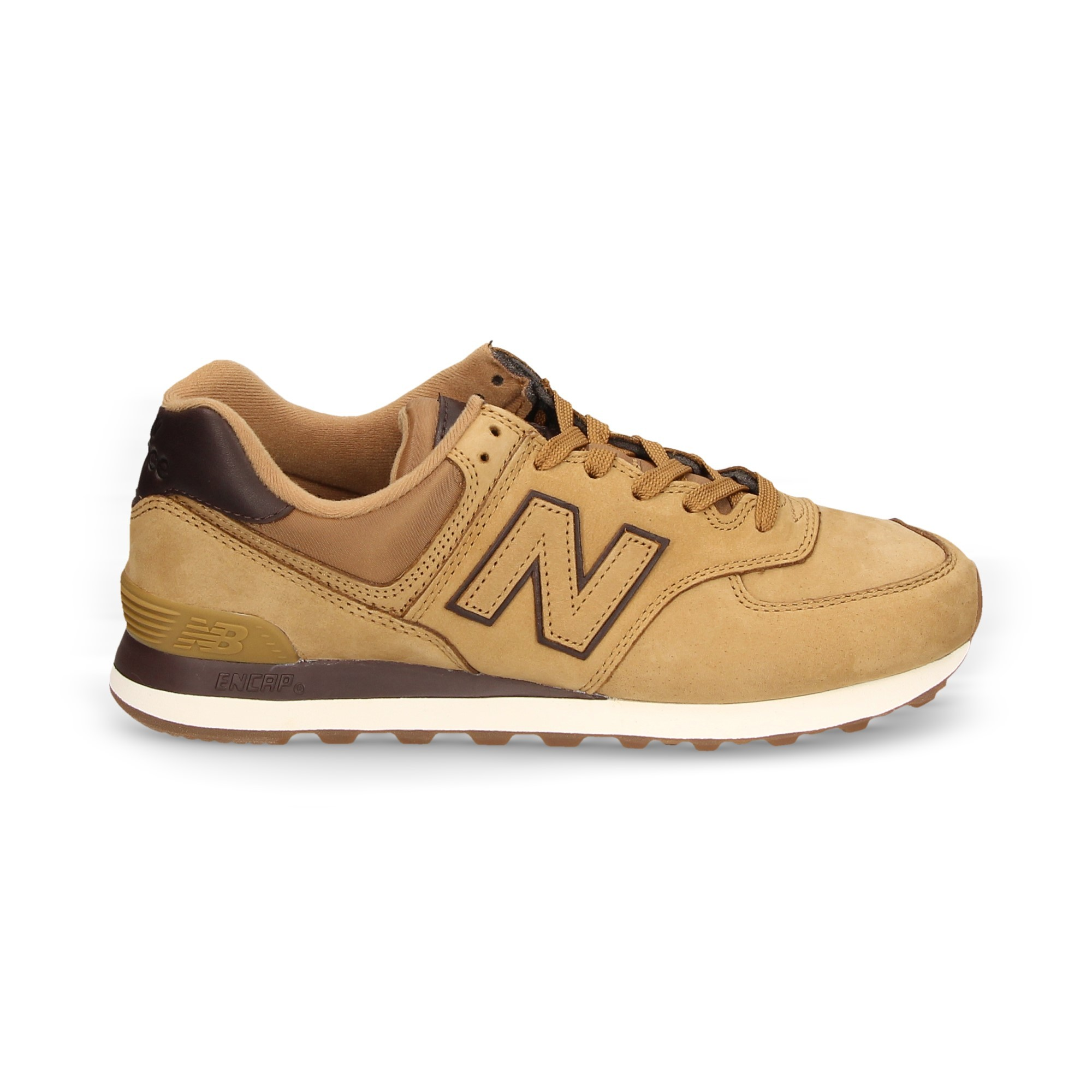 new balance 574 moutarde
