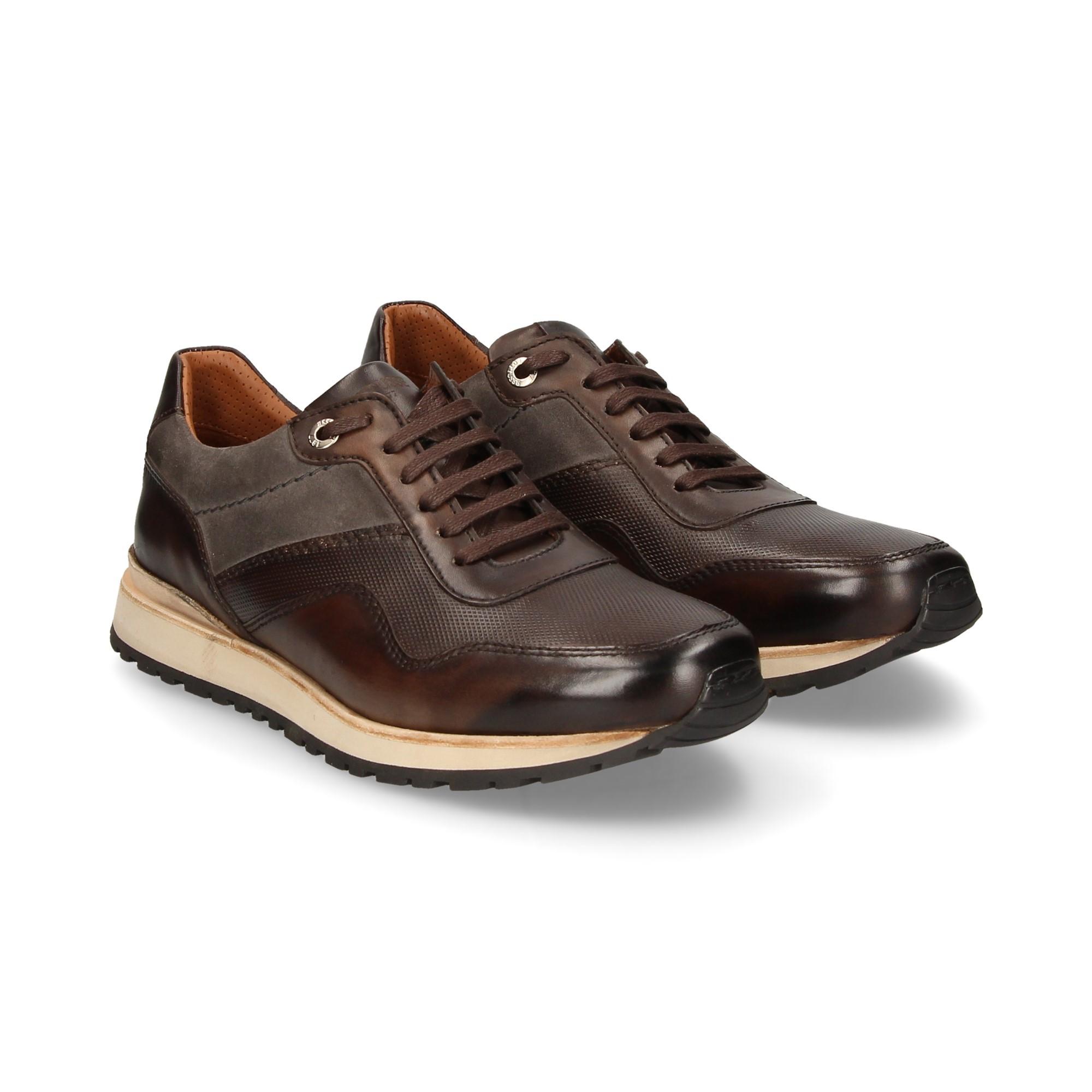 buy online bae46 9f4a4 LOTTUSSE Scarpe da ginnastica da uomo T2170 STONE