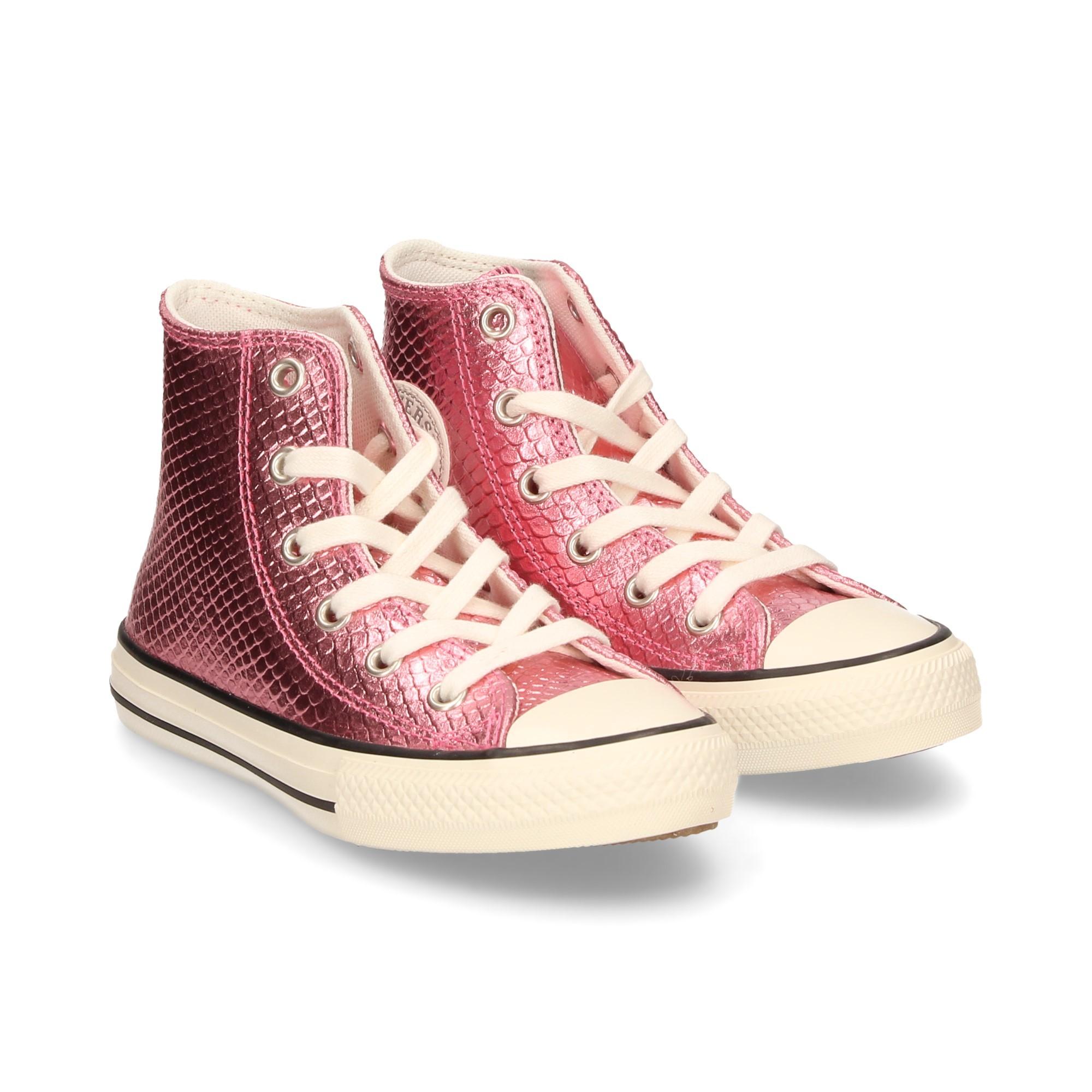 CONVERSE Girls sneakers 665835C PLUM CHALKEGRE