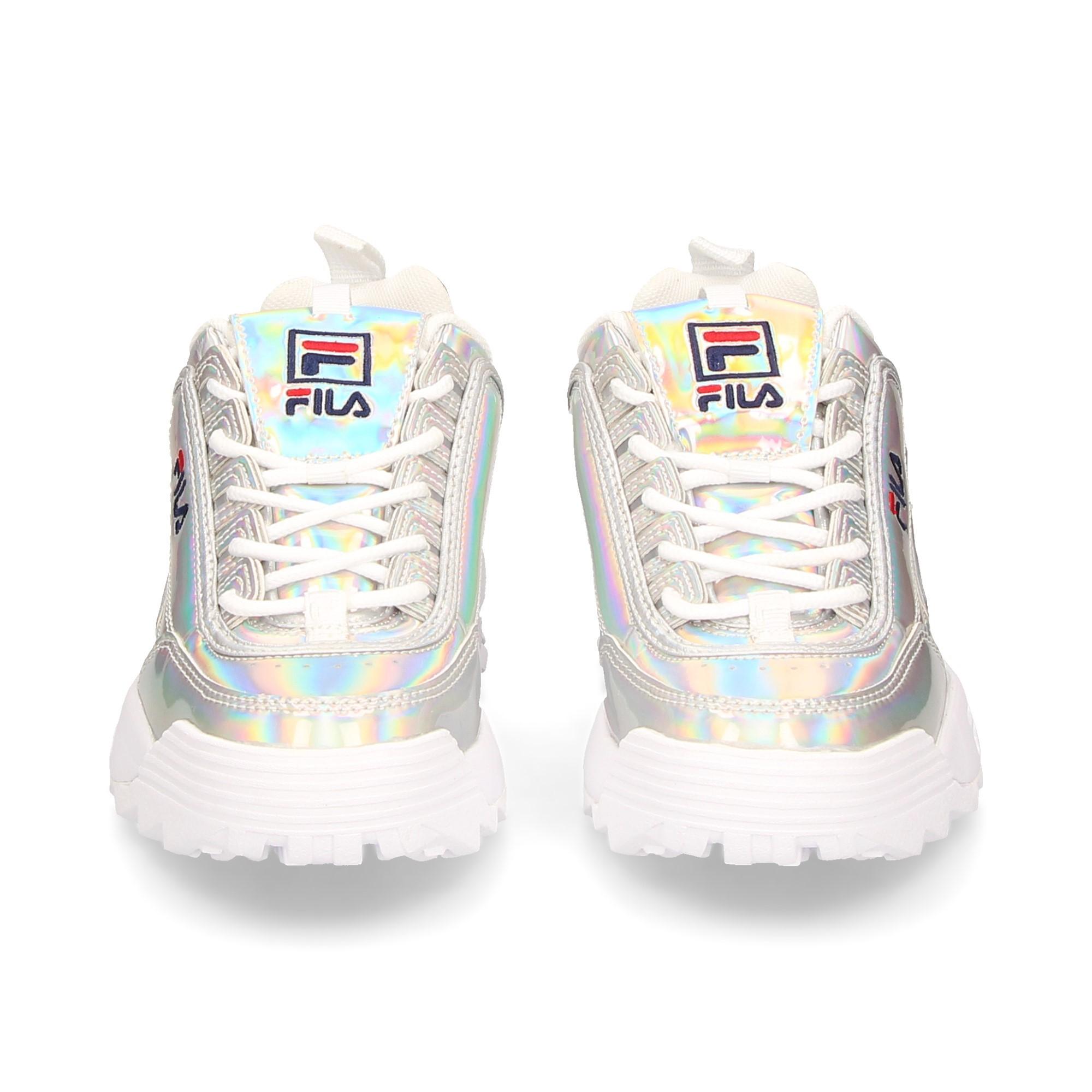 FILA Chaussures de sport pour femmes 1010747 SILVER