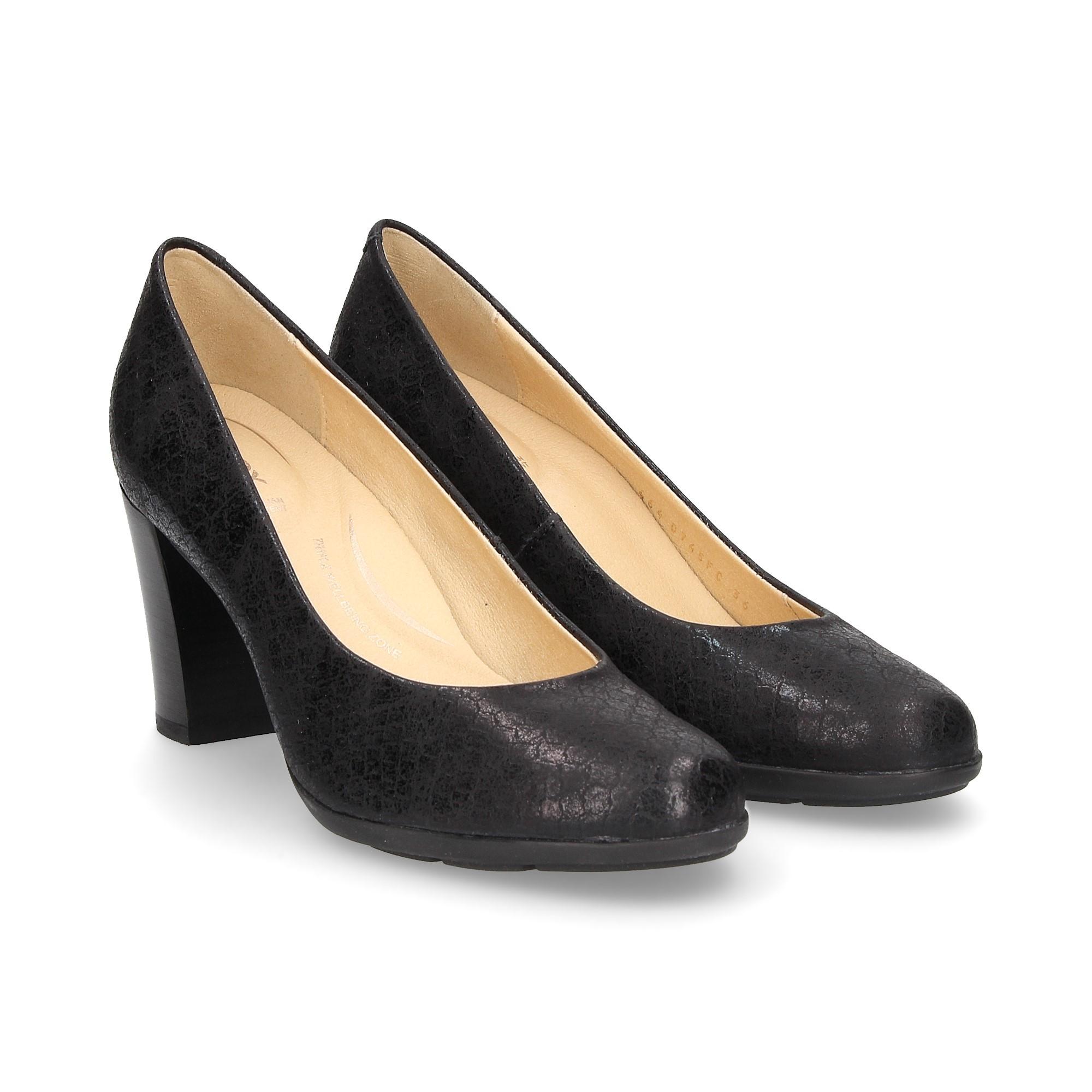 de C9999 GEOX NEGRO Zapatos salón D745FC 7S5xSwgqRF