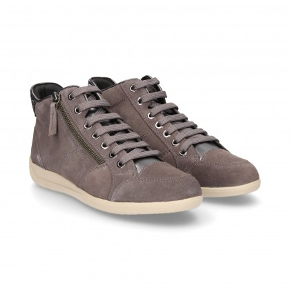 SPORTS SHOE SUEDE CORD GREY