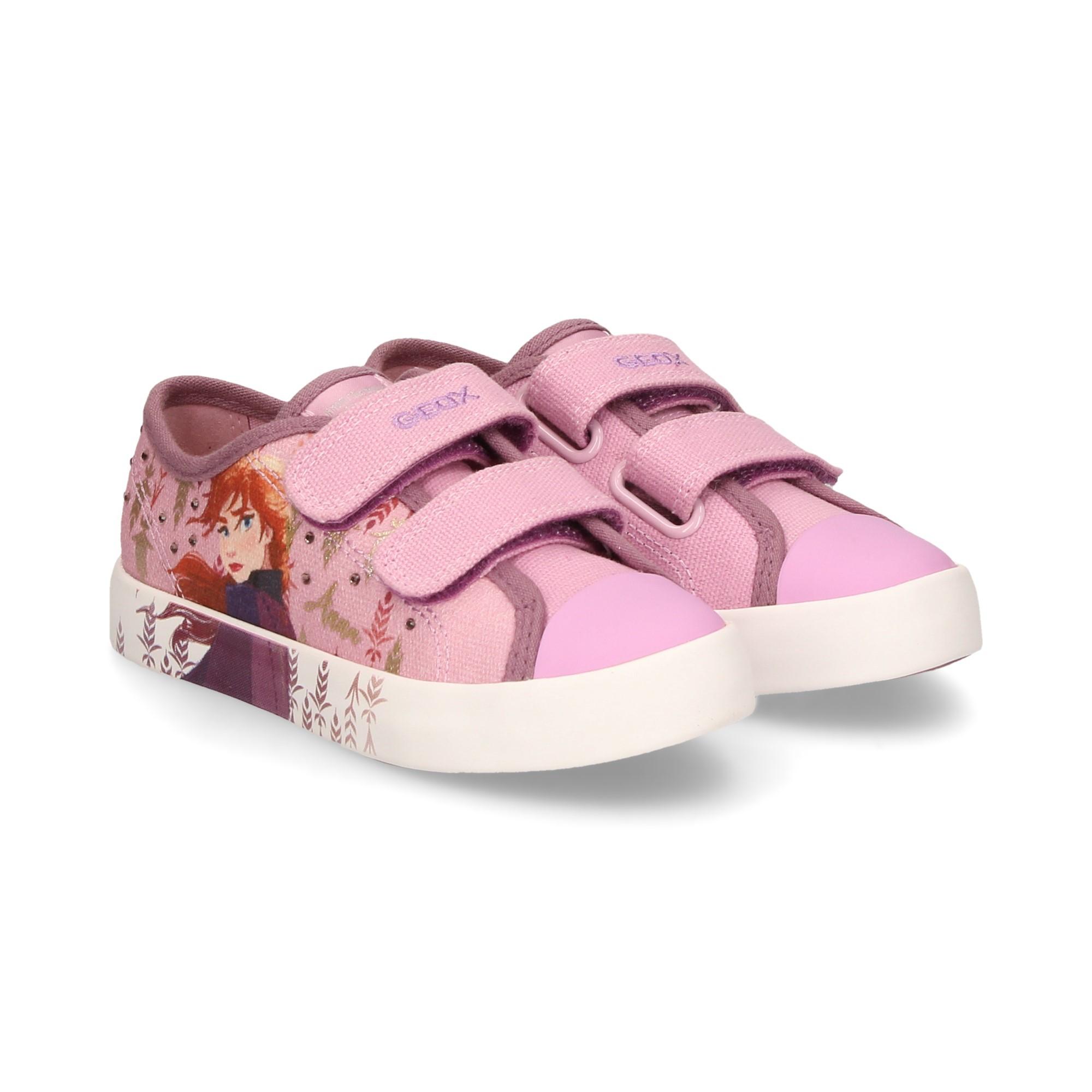 GEOX Zapatillas de niñas J0204H C8005 PINK